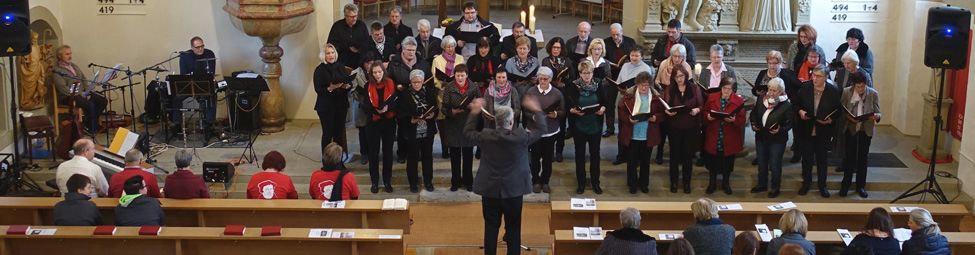 Singen mit Luther Quelle: Sigrun Grahm - Evang.Kirchengemeinde Kürnbach-Bauerbach